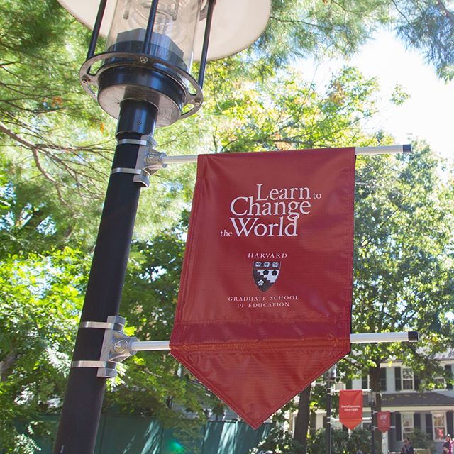 Harvard Graduate School of Education banner