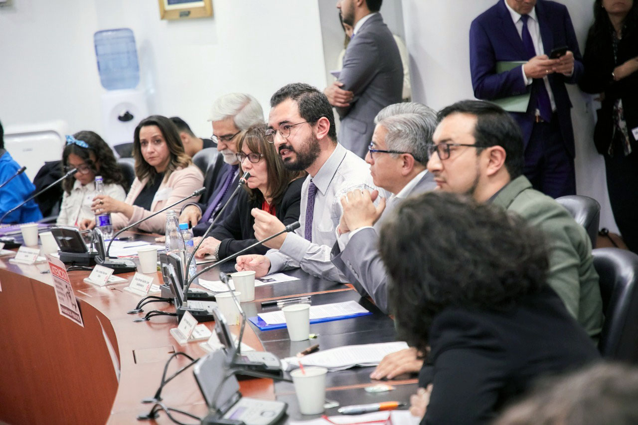 Jorge Cuartas testifies for Colombian Congress