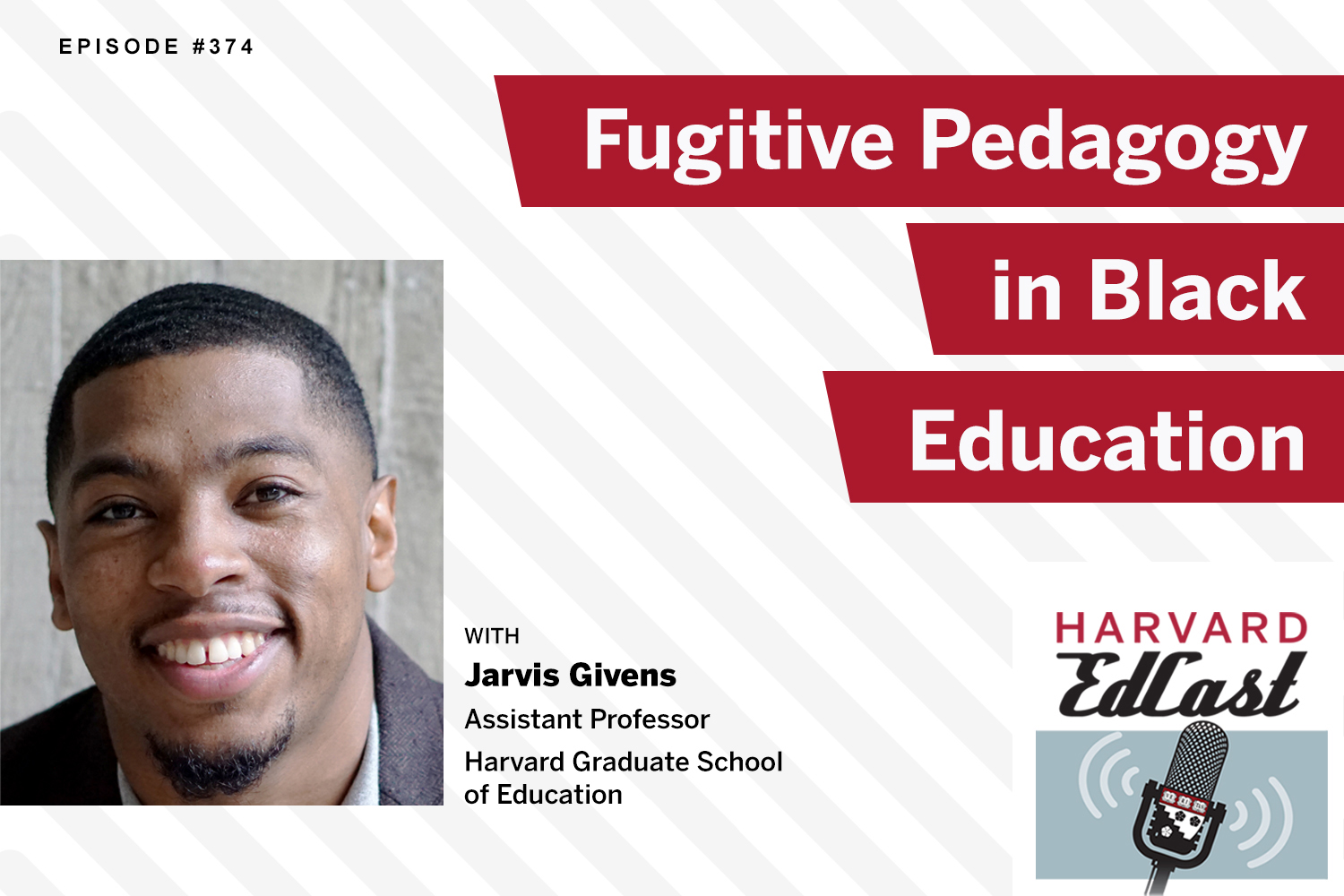 Jarvis Givens EdCast graphic