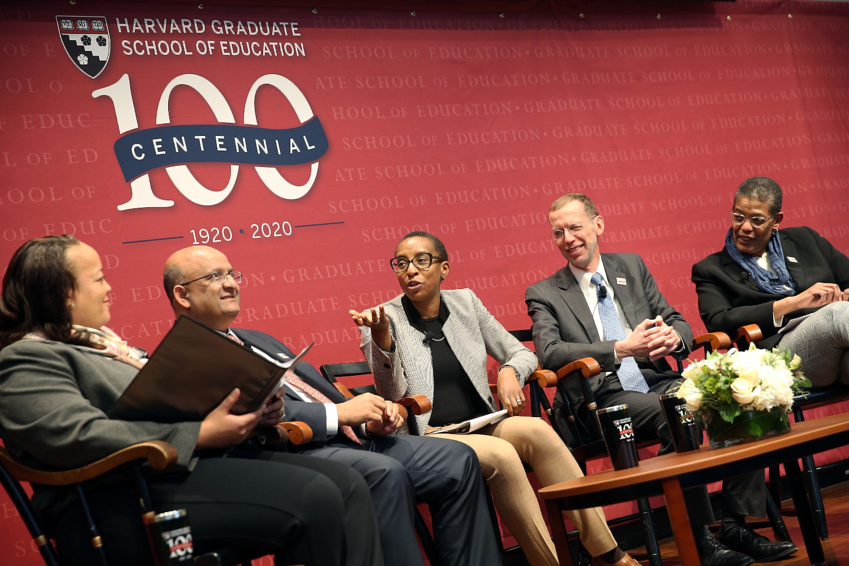 Deans panel at HGSE Centennial