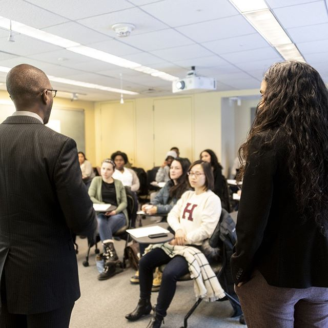 Diverse group of students in classroom