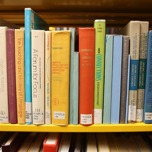 Books at Gutman Library