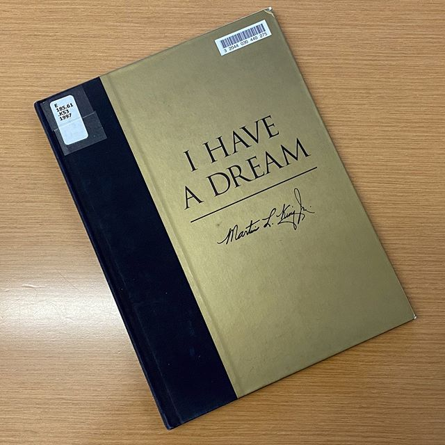 """I Have a Dream"" book"