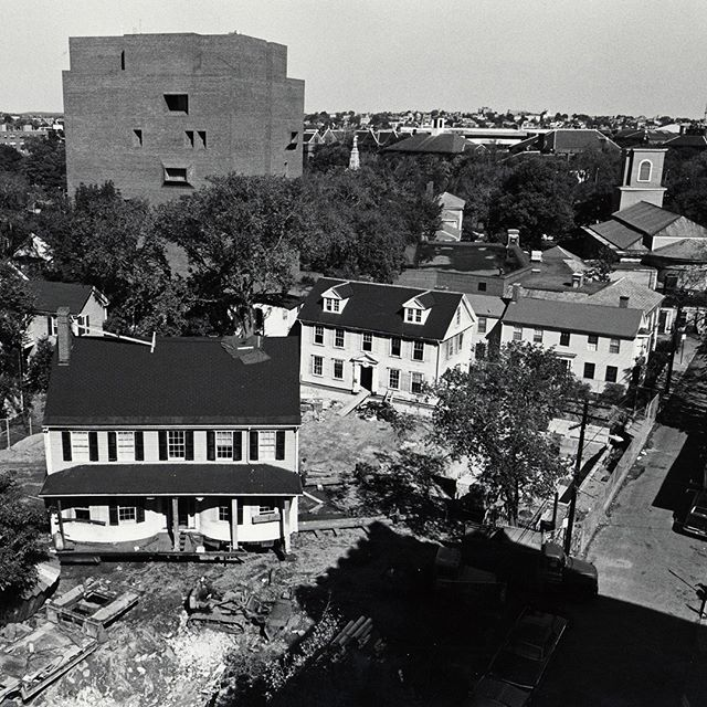 Archival photo of Gutman Library