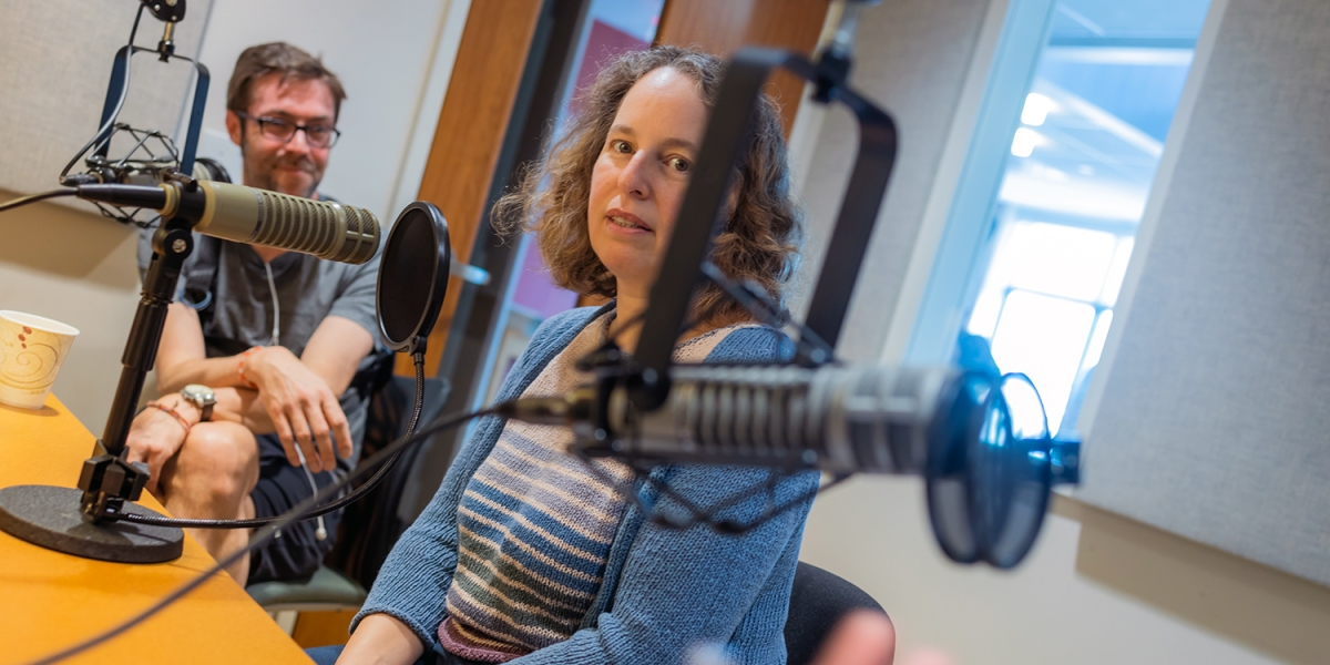 A photo of Meira Levinson on the Harvard Edcast