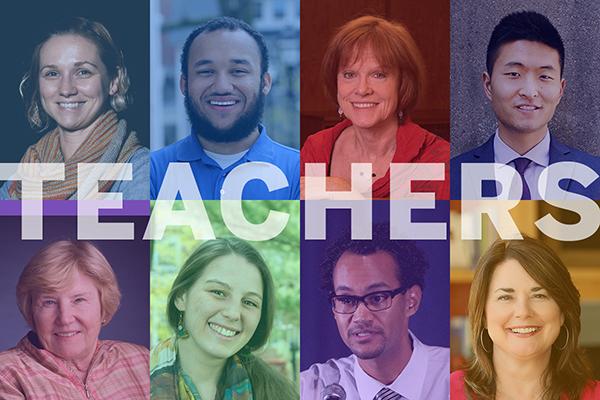 Teacher collage