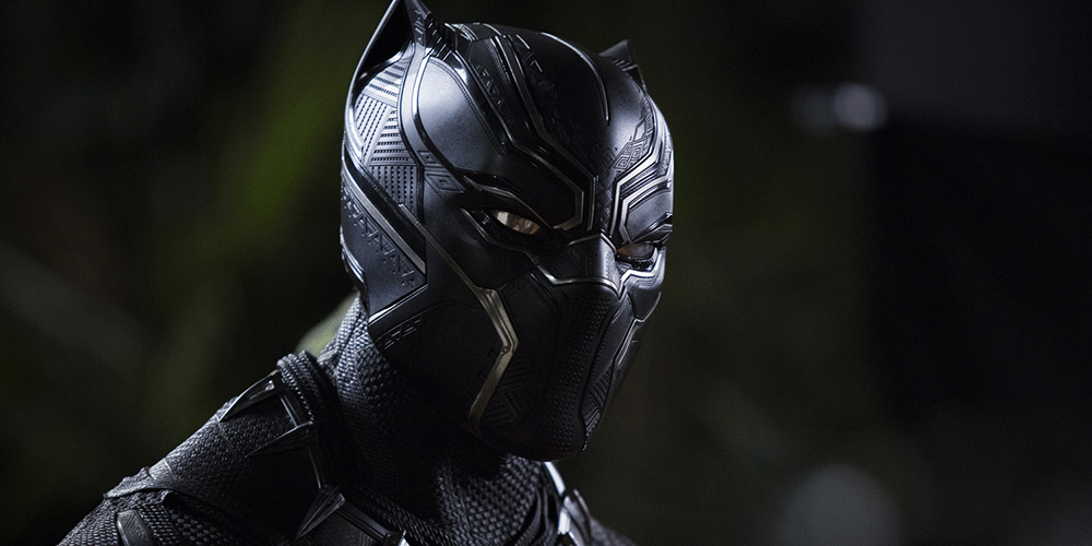 Black Panther courtesy of Marvel Studios