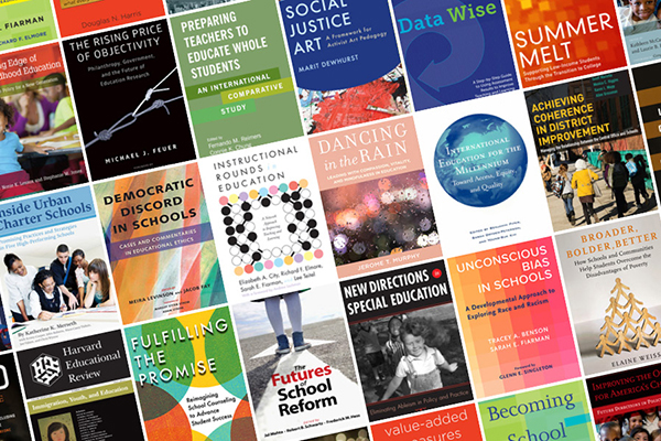 Harvard Ed Press titles collage