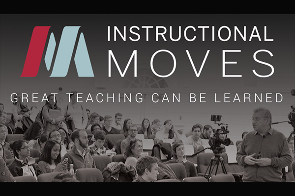 Instructional Moves logo over teaching scene