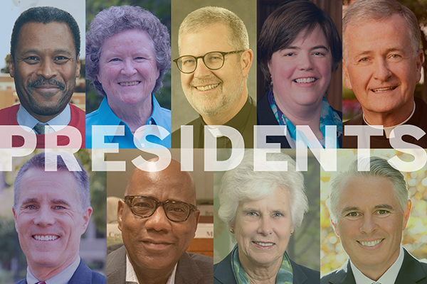 College presidents collage