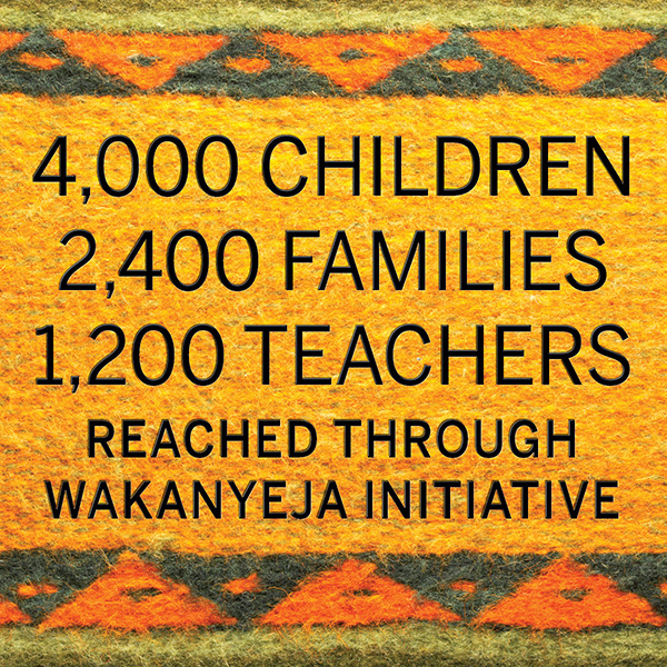 Wakanyeja Initiative infographic