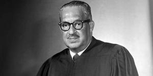 Photo of Justice Thurgood Marshall