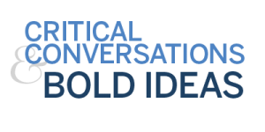 Critical Conversation & Bold Ideas logo