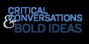 Critical Conversation & Bold Ideas logo