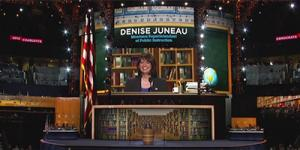 Denise Juneau at 2014 DNC