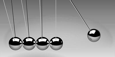 Newton's pendulum concept