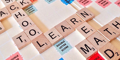 Scrabble words about learning