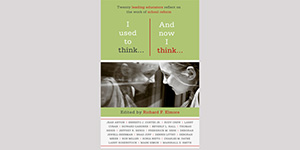 Book Cover: I Used to Think and Now I Think
