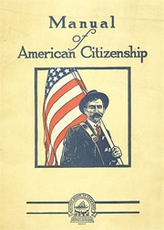 Manual of American Citizenship Cover