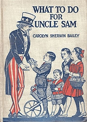 Cover of book, What to do for Uncle Sam
