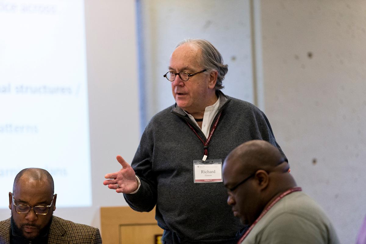 Richard Elmore teaching