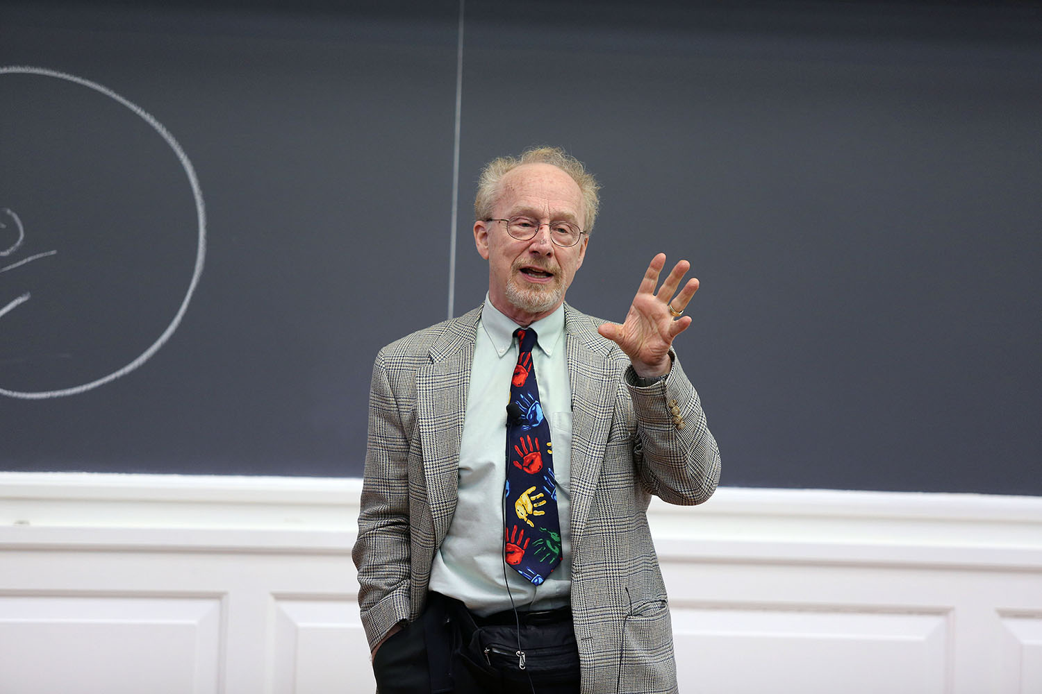 Kurt Fischer during Brain Awareness Week 2014