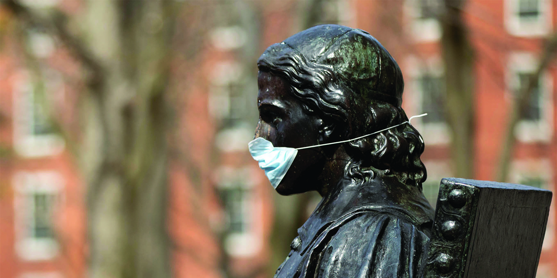 John Harvard mask