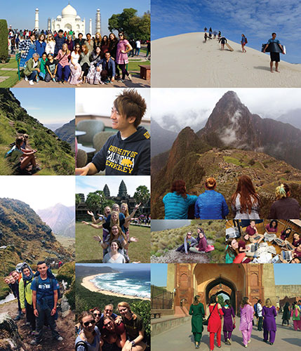 Gap Year Collage