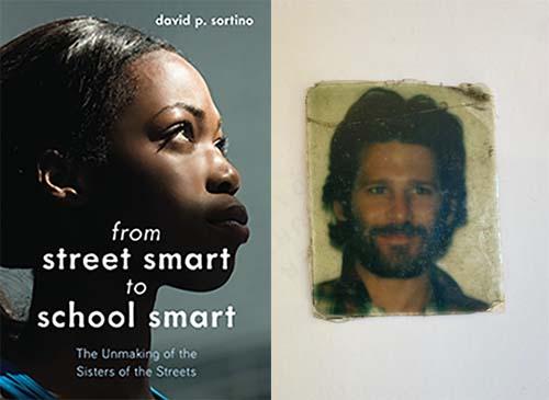 David Sortino and book cover