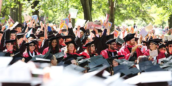 HGSE Commencement 2014 graduates