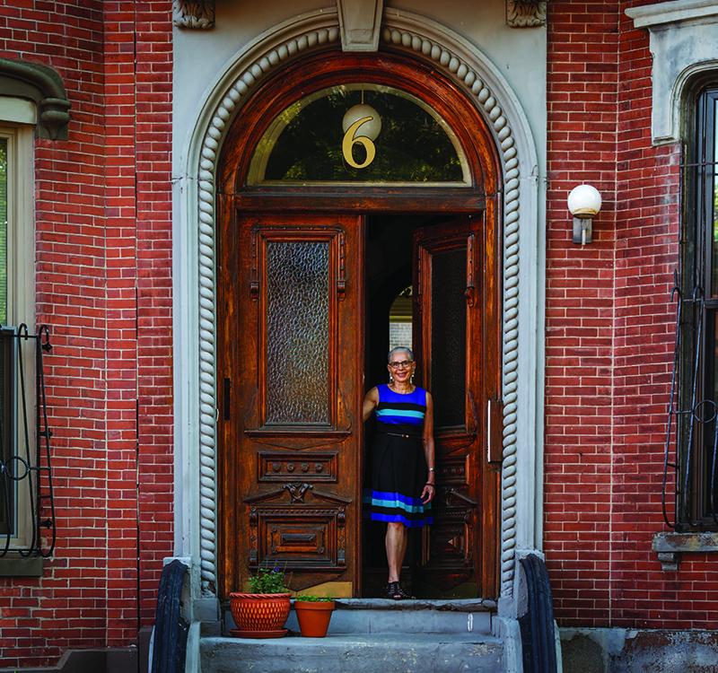 Pamela Mason at home