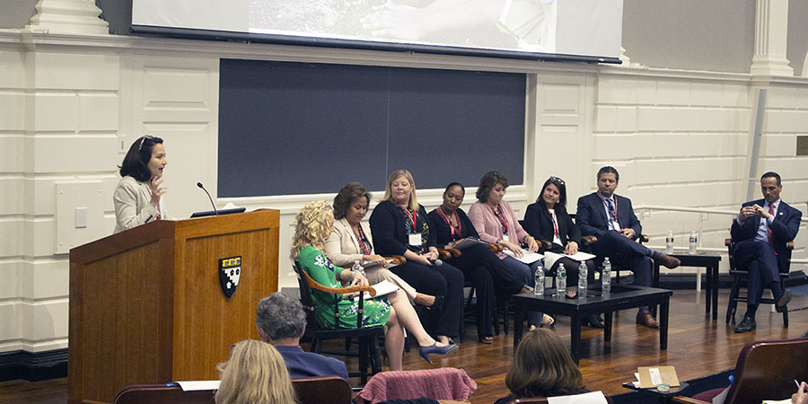 A meeting of the By All Means Network at HGSE