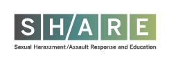 SHARE banner: Sexual Harrassment, Assault Responce and Education at Harvard
