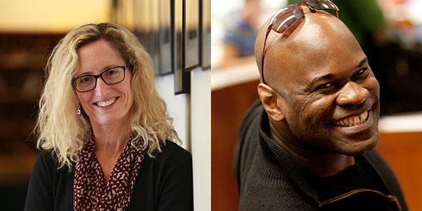 Monica Higgins and Uche Amaechi