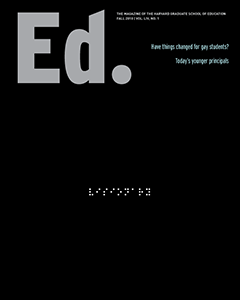 Ed Magazine Cover Fall 2010