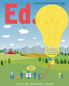 Cover of Ed Magazine Fall 2013
