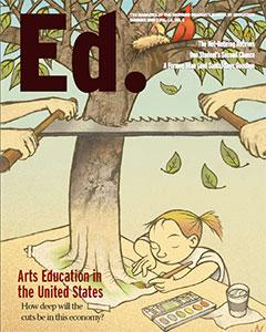 Cover of Ed Magazine Summer 2009