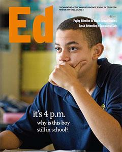 Cover of Ed Magazine Winter 2009