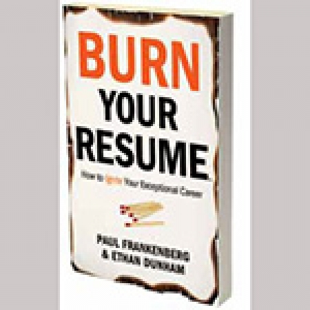 Burn Your Resume book cover