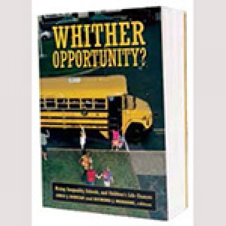 Book Cover: Whither Opoortunity?