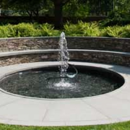 Sunken Garden Fountain