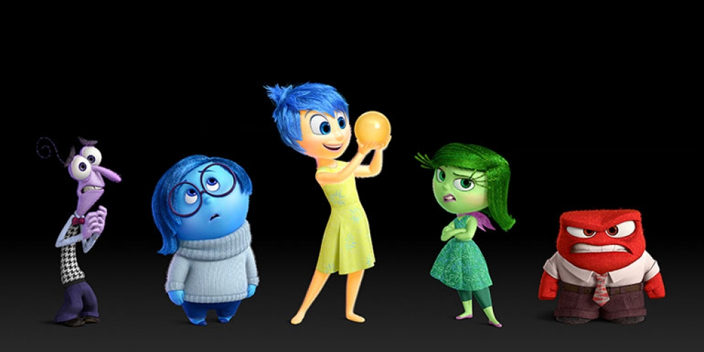Animated characters from the Pixar film Inside Out