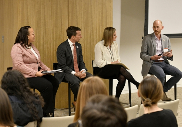 Education policy panel at D.C. alumni event