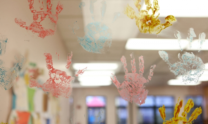 Preschool Handprints