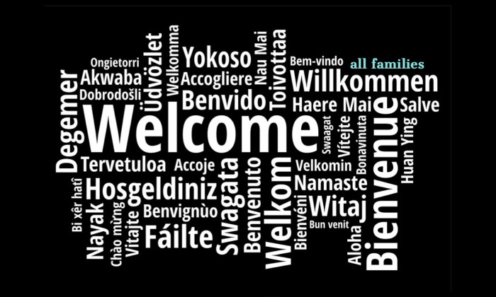 Welcome in several world languages
