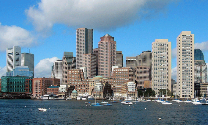 photo of Boston skyline