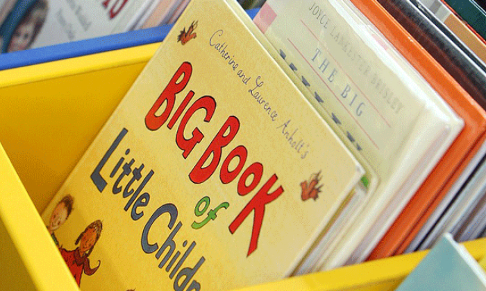 photo of children's books