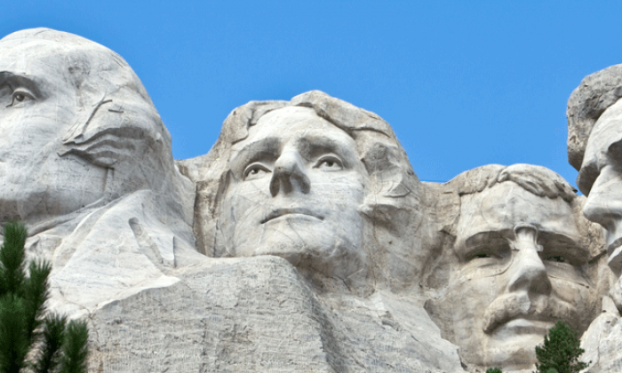 photo of Mount Rushmore in South Dakota