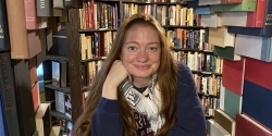 Catherine Pitcher at the Last Bookstore